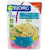 Bjorg Perles de Blé Boulghour Légumes Bio - Doypack 250 g