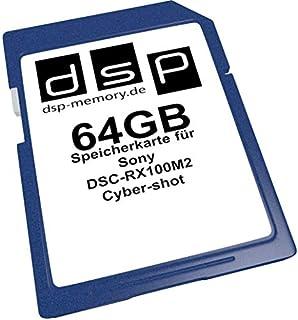 DSP Memory Z-4051557411081 64GB Speicherkarte für Sony DSC-RX100M2 Cyber-shot (B00HZO0AK4) | Amazon price tracker / tracking, Amazon price history charts, Amazon price watches, Amazon price drop alerts