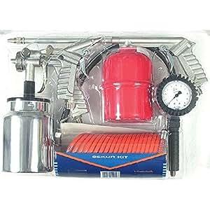 Walmec 03938 Lot de 5 Accessoires pour Compresseur