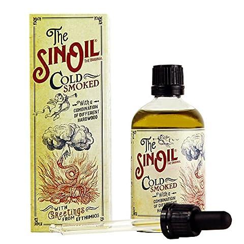 The Sin Oil Smoked / Würzöl - **TOPPING** Olivenöl geräuchert 100 ml *** PREMIUM FEINKOST ***