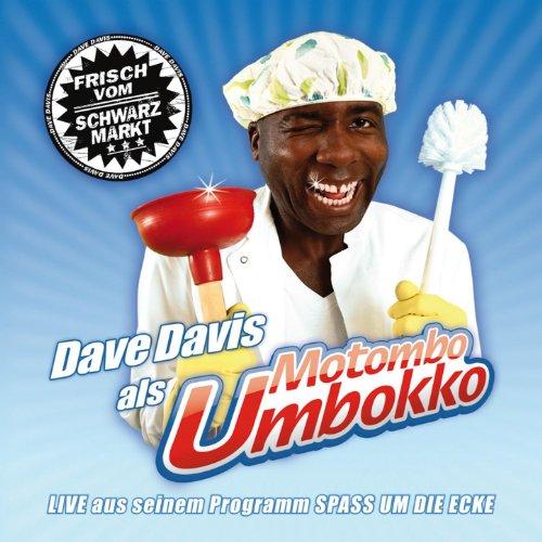 """Dave Davis als Motombo Umbokko """"Spaß um die Ecke"""""""