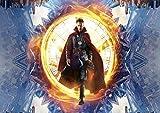 Poster Doctor Strange Marvel Super Hero Power of Time Wall Art 01