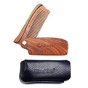 Blentude 7 Teile/Satz Senioren Männer Pflege Bart Kardieren Kit Mit Verbessert-Geschenkbox Haar Bart Pflege Pflege Bart Kardieren Kit