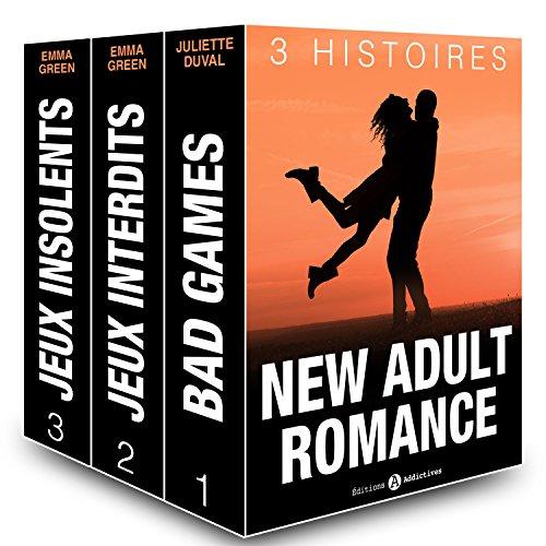 Couverture du livre New Adult Romance, 3 Histoires