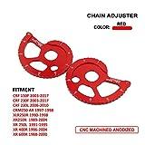 Guida catena Jfg Racing CNC regolatore kit per Honda Crf 150F Crf230F Crf 230L CRM250AR XR 250L XR250R XLR250R XR 400R XR 600R