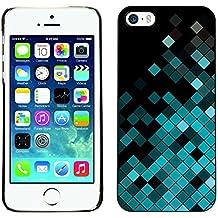 STPlus Mosaïque turquoise Coque Rigide Étui Cache pour Apple iPhone SE / 5 / 5S
