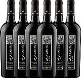 6er Vorteilspaket - AMARANTA Montepulciano d'Abruzzo DOC 2015 - Tenuta Ulisse   trockener Rotwein   italienischer Rotwein aus Abruzzen   6 x 0,75 Liter