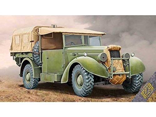 Ace ace72552 - Modèle Kit Super Snipe Lorry 8 CWT Truck, Gris