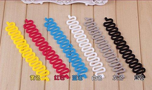 Fashion Hair French Braiding Tool Roll with Magic Hair Twist Styling Bun (Bun-haar-stifte)