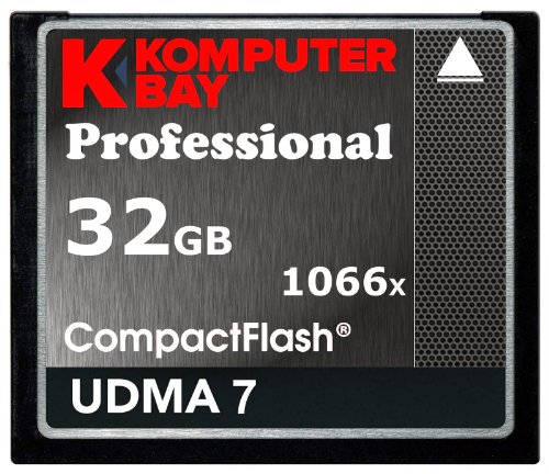 Komputerbay 32gb professional compact flash scheda 1066x cf scrivere 155mb/s leggere 160mb/s velocità estrema udma 7 raw