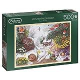 Falcon de luxe 11094  Winter Hedgerow Jigsaw Puzzle (500-Piece)