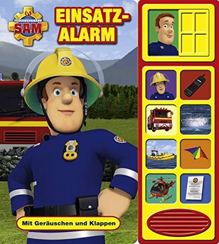 feuerwehrmann sam puzzlebuch Feuerwehrmann Sam - Einsatzalarm - Klappen-Geräusche-Buch
