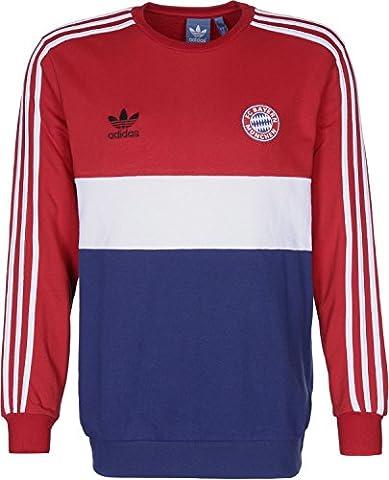 Adidas Bayern Crew sweat XXL red/collegiate royal