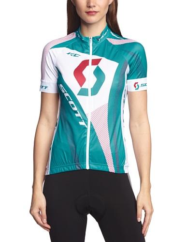 Scott Damen kurzärmliges Shirt W's RC Short Sleeve, Oc Bl/Cer Pi, L, RM105L