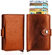 JY_shop Wallet for Men,Anti-theft Wallet Credit Card Wallet Card & ID Cases Purse Money Cash Holder With E