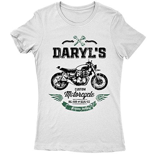 9371Lw Custom Motorcycle Repair & Service Damen T-Shirt -