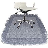Floordirekt PRO - 9 Größen zur Wahl - Polycarbonat Bodenschutzmatte transparent für Teppich und Teppichböden