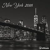 2018 New York Calendar - teNeues Grid Calendar - Photography Calendar - 30 x 30 cm