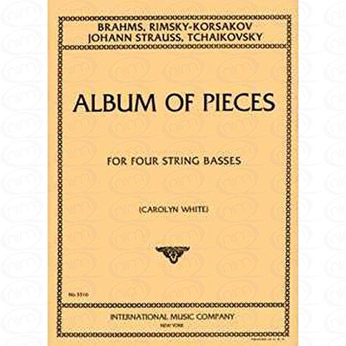 ALBUM - arrangiert für vier Stimmen - Kontrabass [Noten/Sheetmusic]