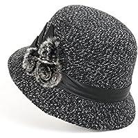 lkklily-ladies al aire libre sombrero moda sombreros gorro de invierno sombrero lazo Joker