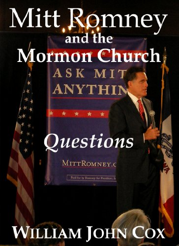 Mitt Romney and the Mormon Church: Questions book cover