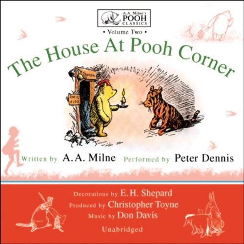 The House at Pooh Corner  Audiolibri
