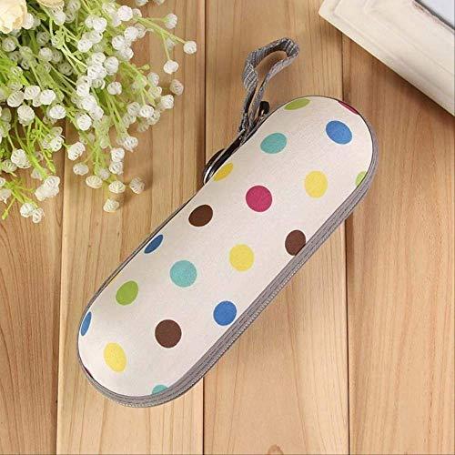 GFF Neue Kreative Super Licht Mini Taschenschirm Männer Mit Box leicht zu tragen 5 Fach 270g Regenschirm Regen/Sonne Frauen Kinder Farbe dot -