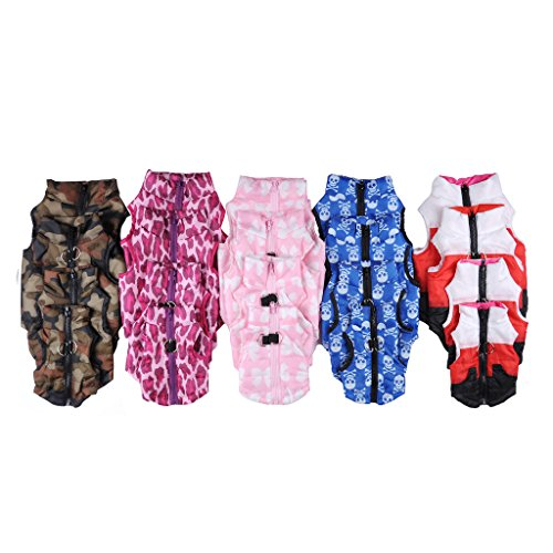 Pet Cat Dog Apparel Soft Padded Vest Harness Puppy Small Dog Coat Clothes