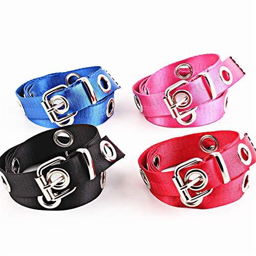 Easy Go Shopping Cinturones de Mujer Cinturones Largos y Accesorios Cinturones de Lona cinturón...
