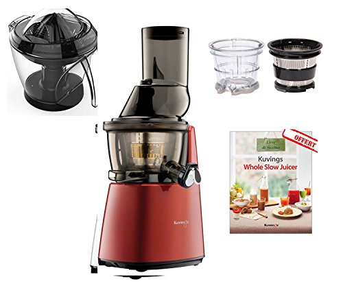 Slow Juicer Uae : KUvINGS SLOW JUICER C 9500 GD RED ( OPTIONAL CITRUS PRESS+ 2 STRAINER DESSERT and SMOOTHIES ...
