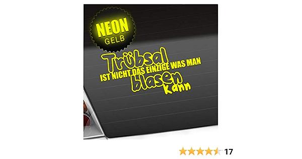 Kiwistar Trübsal Nicht Das Einzige Was Man Blasen Kann 20 X 10 Cm In 15 Farben Neon Chrom Sticker Aufkleber Auto