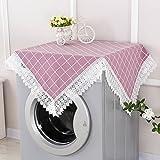Waschmaschine abdeckung roller cover handtuch lace-bett-tisch-abdeckung handtuch doppel-offener kühlschrank deckel tuch staubtuch-D 45x280cm(18x110inch)