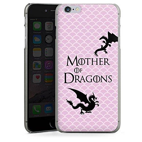Apple iPhone 7 Hülle Case Handyhülle Drachen Game of Thrones GOT Hard Case anthrazit-klar
