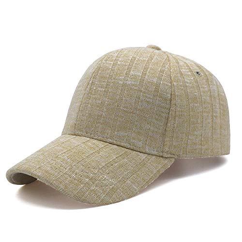 shunlidas Hüte Dekorationen Fischerhutherren-Baseballmützen Outdoor-Mützen Mode @ Beige_Adjustable (56-59Cm)