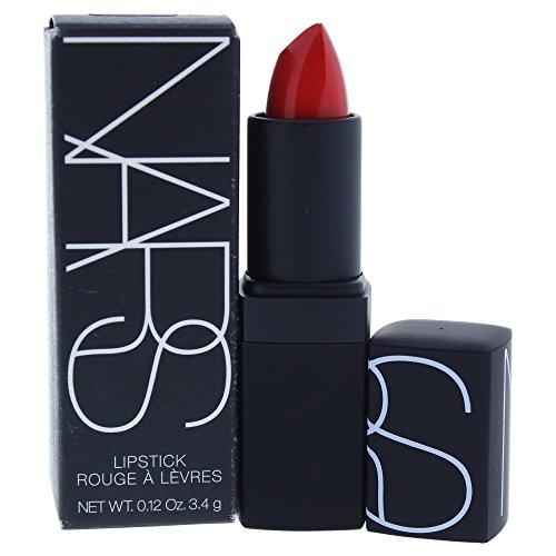 Lipstick - Heat Wave (Semi-Matte) - 3.4g/0.12oz (Nars Semi-matte Lipstick)