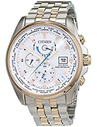 Citizen Herren-Armbanduhr XL Analog Quarz Edelstahl beschichtet AT9034-54A