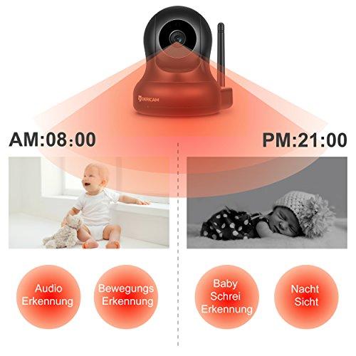 Dericam 1080P Full HD Wlan IP Kamera - 4