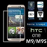 wekaprotect-Pellicola protezione schermo in vetro temperato (Tempered Glass) HTC One M9s
