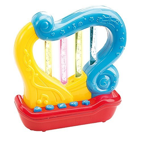 Meine Erste Harfe. Musikalische Früherziehung für Babys und Kleinkinder - Viele verschiedene Funktionen und LED Lichter