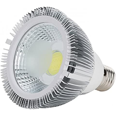 Lampada a LED PAR30E27COB 7W 550LM 30.000h Blanco