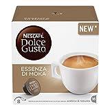 NESCAFÉ DOLCE GUSTO ESSENZA DI MOKA Caffè espresso 3 confezioni da 16 capsule (48 capsule)