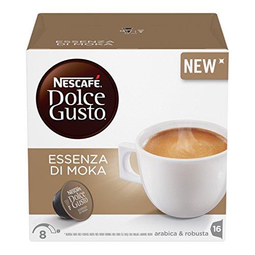 Nescafé Dolce Gusto Essenza di Moka Caffè Espresso 3 confezioni da 16 capsule (48 capsule) 74