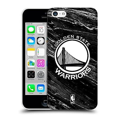 Officiel NBA B&W Marbre Golden State Warriors Étui Coque D'Arrière Rigide Pour Apple iPhone 5c