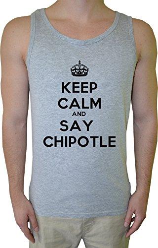 keep-calm-and-say-chipotle-uomo-canotta-t-shirt-grigio-cotone-mens-tank-t-shirt-grey