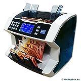 Geldzählmaschine, für Frontlader + 4Erkennungen + Funktion valorisatrice auf Konvolut sortiert