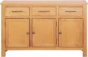 avec 1 Porte et 3 tiroirs en Bois de R/écup/ération Massif Construction Solide Style Vintage 60 x 30 x 70 cm Tidyard Buffet