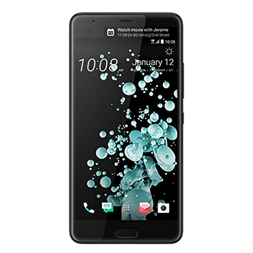 HTC U Ultra Smart Phone, Brilliant Black image