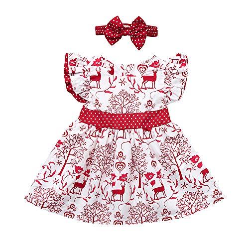 Hersteller Kostüm China - TianranRT❤ Baby Mädchen Prinzessin Kleid Kind mit Stirnband für Weihnachten Canaval Zeremonie Halloween Birthday Party Show Fotografie Canaval Kostüm 6 Monate-4 Jahre