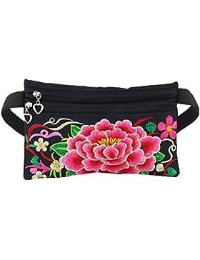 JT-Amigo Bauchtasche Hüfttasche Waistbag Blumen Muster