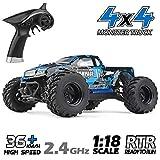 HAIBOXING Ferngesteuert Auto 1/18 Skala 4WD Monster Truck 36KM/H Schnelle Geschwindigkeit, Wasserdicht 2,4 GHz RC...